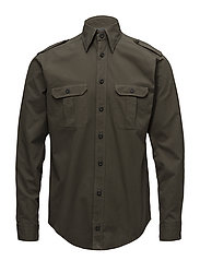 Green Overshirt - GREEN