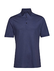 Blue Polo Short Sleeve Popover Shirt - BLUE