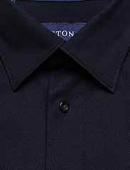 Eton - Polo shirt - long sleeved - basic shirts - blue - 2