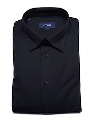 Eton - Polo shirt - long sleeved - basic shirts - blue - 3
