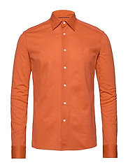 Polo shirt - long sleeved - YELLOW/ORANGE