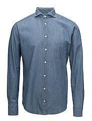 Indigo-Slim fit - BLUE