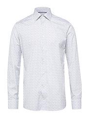 Floral Poplin Shirt - WHITE