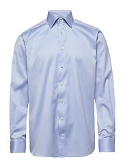 Twill Shirt – Paisley - Contemporary fit - BLUE