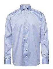 Twill Shirt – Paisley Details - BLUE