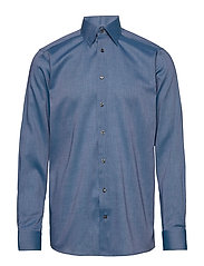 Lightweight Flannel Shirt - Contemporary fit - BLUE