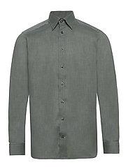 Lightweight Flannel Shirt - Contemporary fit - GREEN