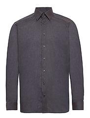 Lightweight Flannel Shirt - Contemporary fit - GREY