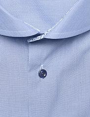 Eton - Blue hairline striped shirt – navy details - peruspaitoja - blue - 2