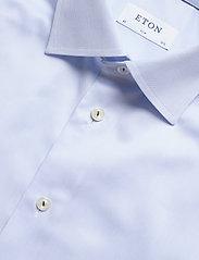 Eton - Royal twill shirt - peruspaitoja - blue - 4
