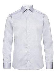 Diamond weave shirt - BLUE