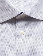 Eton - Diamond weave shirt - peruspaitoja - blue - 2