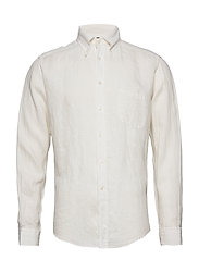 White luxe linen shirt - WHITE