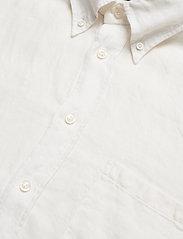 Eton - White luxe linen shirt - peruspaitoja - white - 2