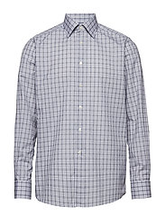 Navy Overcheck Shirt - BLUE
