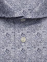Eton - Paisley Print Shirt - business shirts - blue - 2