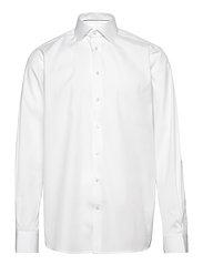 Poplin - Contemporary fit - WHITE