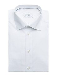 Eton - Poplin-Slim fit - basic skjorter - white - 3