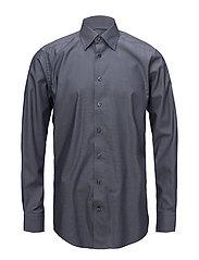 Grey Button-Under Poplin Shirt - GREY