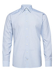 Tennis Racket Print Shirt - BLUE