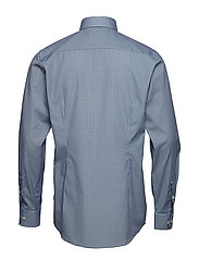 Eton - Geometric Print Shirt - Contemporary fit - chemises business - blue - 1