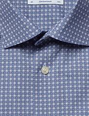 Eton - Geometric Print Shirt - Contemporary fit - chemises business - blue - 2