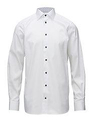 White Shirt - Medallion Details - WHITE