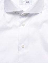 Eton - Signature Twill-Slim fit - peruspaitoja - white - 2