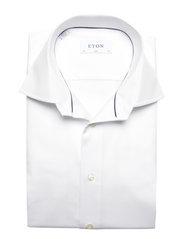 Eton - Signature Twill-Slim fit - peruspaitoja - white - 3