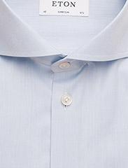 Eton - Cambridge-Collection-Super Slim fit - lina krekli - blue - 2