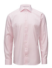 Pink Hounds Tooth Shirt - PINK/RED