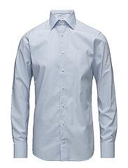 Sky Blue Check Shirt - BLUE