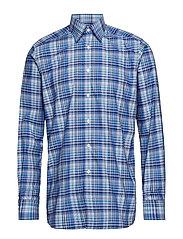 Blue Bold Check Shirt - BLUE