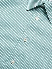 Eton - Striped Natural Stretch Shirt - chemises business - green - 4