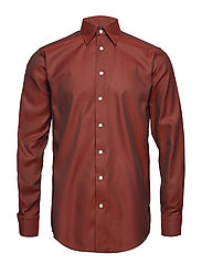 Red Oxford Shirt - PINK/RED