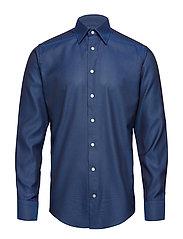 Dark Blue Oxford Shirt - BLUE