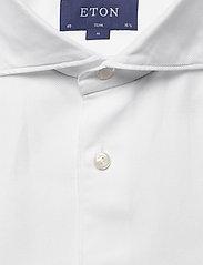 Eton - White twill shirt - soft - peruspaitoja - white - 2
