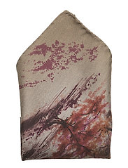 Pocket Square - OFFWHITE/BROWN