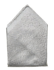 Shimmering Pocket Square - BLACK
