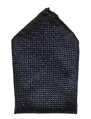 Shimmering Pocket Square - NAVY