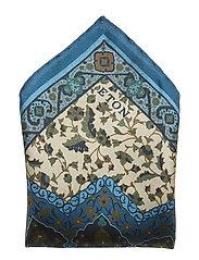 Blue Twill Silk Pocket Square