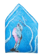 Blue Metamorphosis Print Pocket Square