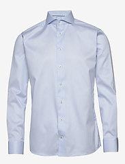 Eton - Royal twill shirt - peruspaitoja - blue - 0