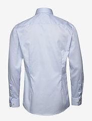 Eton - Royal twill shirt - peruspaitoja - blue - 1