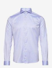 Eton - Cambridge-Collection-Super Slim fit - lina krekli - blue - 0