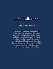 Eton - Cambridge-Collection-Super Slim fit - lina krekli - blue - 4