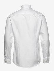 Eton - White twill shirt - soft - peruspaitoja - white - 1
