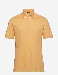 Blue Polo Short Sleeve Popover Shirt - kortermede - yellow/orange