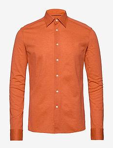 Polo shirt - long sleeved - basic skjortor - yellow/orange