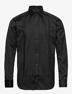 Glitter Evening Shirt - BLACK